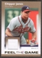 2007 Fleer Ultra Feel the Game Materials #CJ Chipper Jones