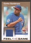 2007 Fleer Ultra Feel the Game Materials #CZ Carlos Zambrano
