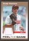2007 Fleer Ultra Feel the Game Materials #GS Grady Sizemore