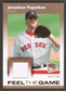2007 Fleer Ultra Feel the Game Materials #JP Jonathan Papelbon