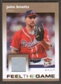2007 Fleer Ultra Feel the Game Materials #JS John Smoltz