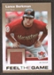 2007 Fleer Ultra Feel the Game Materials #LB Lance Berkman