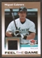 2007 Fleer Ultra Feel the Game Materials #MC Miguel Cabrera