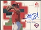 1999 SP Signature #SR Scott Rolen Auto
