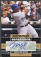 2010 Upper Deck #MB Marlon Byrd Signature Sensations Auto