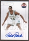 2011/12 Past and Present Elusive Ink Autographs #HD Hubert Davis Autograph