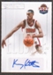 2011/12 Panini Past and Present Elusive Ink Autographs #KKI Kerry Kittles Autograph