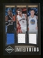 2011/12 Panini Limited Trios Materials #5 Dwight Howard Andrea Bargnani Andrew Bogut /49