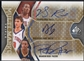 2009/10 SP Game Used #MTMRG Derrick Rose Danilo Gallinari Brandon Rush Multi Marks Triple Auto #30/75
