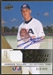 2009 Upper Deck Signature Stars #39 Jameson Taillon USA National Team Future Watch Jersey Auto #610/899