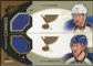 2010/11 Upper Deck SPx Winning Combos #WCBB David Backes/Patrik Berglund