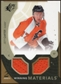 2010/11 Upper Deck SPx Winning Materials #WMJC Jeff Carter