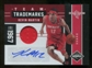 2011/12 Panini Limited Team Trademarks Materials Signatures #19 Kevin Martin Autograph 25 /49