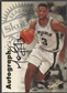 1997/98 SkyBox Premium #116 Monty Williams Autographics Auto