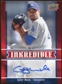 2009 Upper Deck Inkredible #CW Cory Wade S2 Autograph