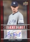 2009 Upper Deck Inkredible #IK Ian Kennedy S2 Autograph