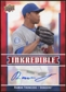 2009 Upper Deck Inkredible #RT Ramon Troncoso S2 Autograph