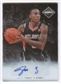 2011/12 Panini Limited Potential Signatures #49 Jeff Teague Autograph 51/99