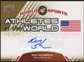 2010 Upper Deck World of Sports Athletes of the World Autographs #AW27 Ken Shamrock