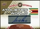 2010 Upper Deck World of Sports Athletes of the World Autographs #AW42 Nick Price