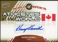 2010 Upper Deck World of Sports Athletes of the World Autographs #AW93 Harry Howell