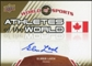 2010 Upper Deck World of Sports Athletes of the World Autographs #AW94 Elmer Lach