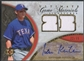 2006 Ultimate Collection #IK Ian Kinsler Game Materials Signatures Jersey Auto #22/35