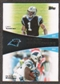 2011 Topps Faces of the Franchise #NW Cam Newton/DeAngelo Williams