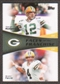 2011 Topps Faces of the Franchise #RF Aaron Rodgers/Brett Favre