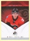 2009/10 Upper Deck SP Game Used #129 Mikael Backlund RC /699