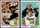 1978 Topps Baseball Near Complete Set (NM-MT)