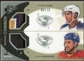 2010/11 Upper Deck SPx Winning Combos Patches #WCBK Dustin Byfuglien Evander Kane 3/15
