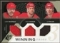 2010/11 Upper Deck SPx Winning Trios #WM3CGY Lanny McDonald/Joe Mullen/Doug Gilmour /50