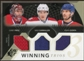 2010/11 Upper Deck SPx Winning Trios #WM3MON Carey Price/Brian Gionta/Mike Cammalleri 30/50