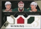 2010/11 Upper Deck SPx Winning Trios #WM3WILD Niklas Backstrom/Mikko Koivu/Pierre-Marc Bouchard 43/50