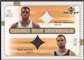 2003/04 Upper Deck MVP #DRTP David Robinson & Tony Parker Combo Materials Jersey