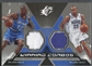 2005/06 SPx #HH Dwight Howard & Grant Hill Winning Materials Combos Jersey