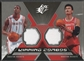 2005/06 SPx #MY Tracy McGrady & Yao Ming Winning Materials Combos Jersey