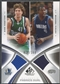2005/06 SP Game Used #NF Dirk Nowitzki & Michael Finley Authentic Fabrics Dual Jersey #024/100