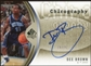 2006/07 Upper Deck SP Authentic Chirography Gold #DB Dee Brown Autograph 24/25