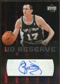 2006/07 Upper Deck UD Reserve Signatures #BB Brent Barry Autograph