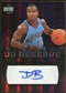 2006/07 Upper Deck UD Reserve Signatures #DB Dee Brown Autograph