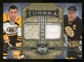 2006/07 Upper Deck Artifacts Tundra Jerseys Ray Bourque / Johhny Bucyk # 4/10