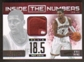 2012/13 Panini Prestige Kyrie Irving Inside The Numbers Seam Patch # 9/25 RARE PSA 9