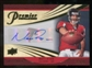 2008 Upper Deck Premier Matt Ryan Penmanship Auto Gold Serial # 23/25