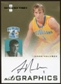 2007/08 Fleer Hot Prospects Autographics #AH Adam Haluska Autograph