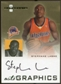2007/08 Fleer Hot Prospects Autographics #SL Stephane Lasme Autograph
