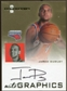 2007/08 Fleer Hot Prospects Autographics #JD Jared Dudley Autograph