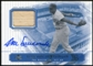 2000 Upper Deck Brooklyn Dodgers Master Collection Legends of Flatbush #LOF8 Don Newcombe Bat Autograph /250