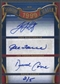 2012 SP Signature Roger Clemens David Cone Derek Jeter Tino Martinez Darryl Strawberry Joe Torre Auto #2/5
